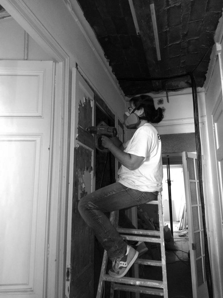 GatVell. Feina de restauració