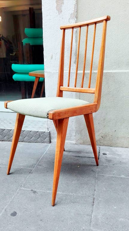 GatVell. Cadira restaurada